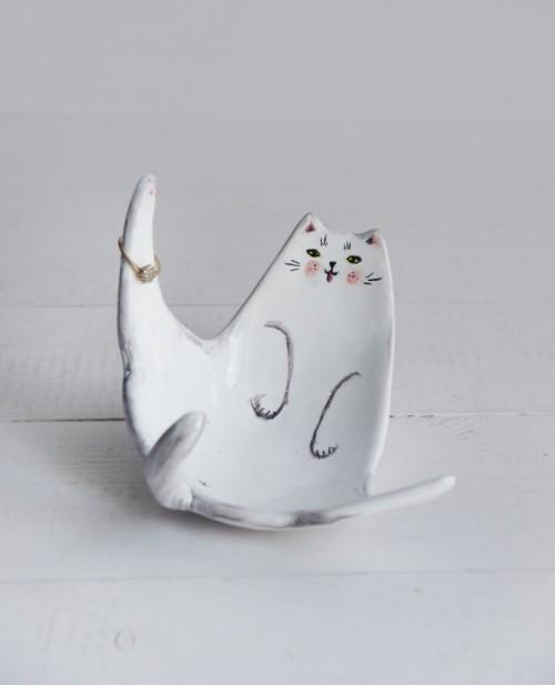 Kotek miseczka