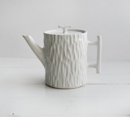 Dzbanek pień drzewa