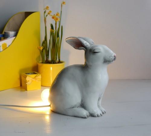 Królik- nocna lampa